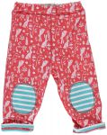 Piccalilly Floral Bunny Reversible Trousers