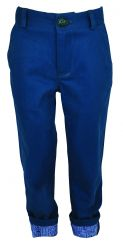 Little Lord & Lady Little Treasure Tarquin Teal Twill Trousers