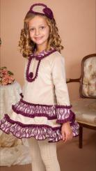 Bea Cadillac 'Amatista' Winter Spanish Dress 7803