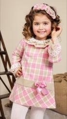 Petit Bebe 'Lozere' Winter Girls Spanish Dress 17693