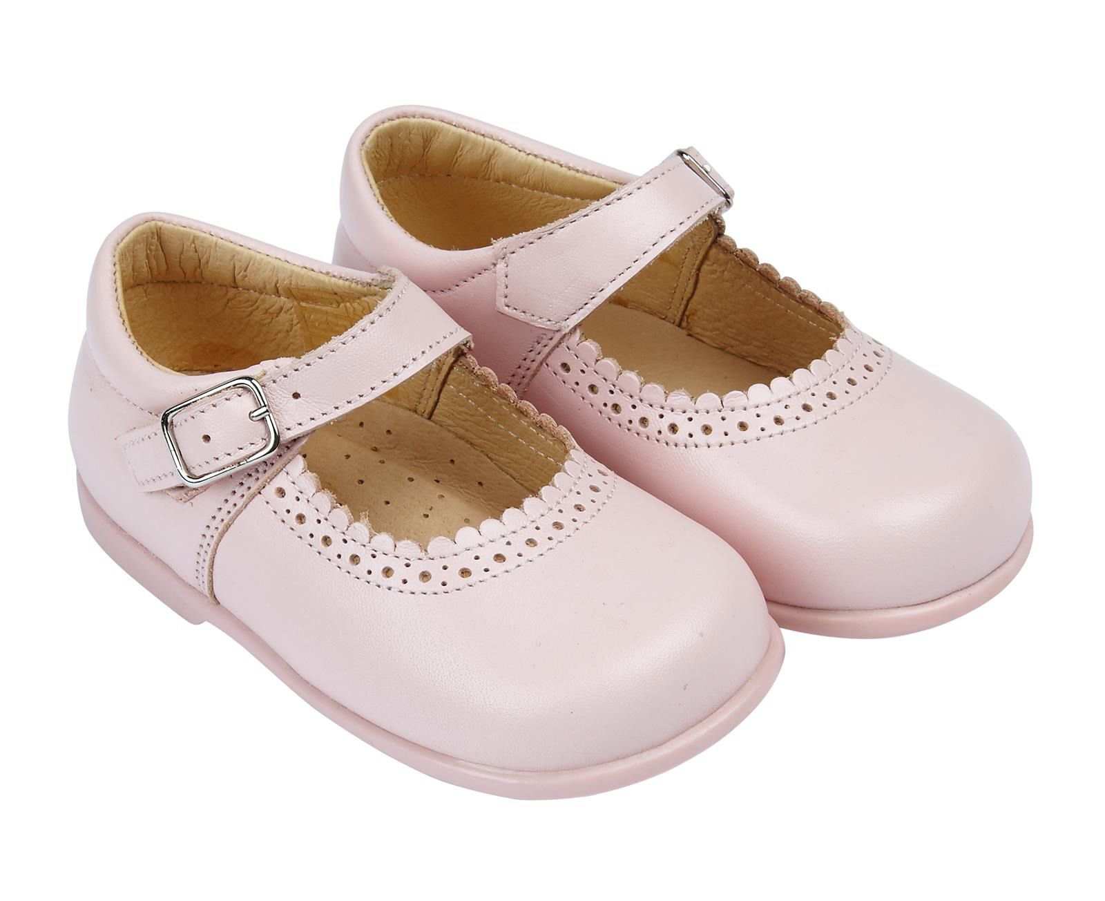 Early Days Pink First Walker Shoe Alice