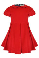 Little Lord & Lady Victoria Red Velvet Dress