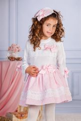 Petit Bebe 'Meiko' Spanish Winter Girls Blouse & Skirt 18613