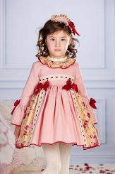 Petit Bebe 'Rukia' Spanish Winter Girls Dress 18644