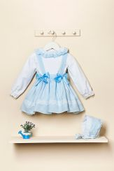 Petit Bebe Spanish Winter Baby Girls Two Piece Set 18520