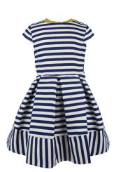 Little Lord & Lady Scarlett Bold Stripe Dress