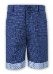 Sarah Louise Boys Patterned Short 010734