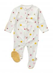 Piccalilly Ladybird Sleepsuit