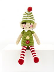 Best Years Pebble Cotton Crochet Elf Rattle