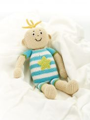 Best Years Crochet Baby Boy Doll
