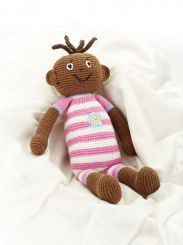 Best Years Crochet Baby Girl Doll