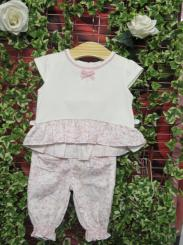 Patachou Girls Summer T-shirt & Trouser Set