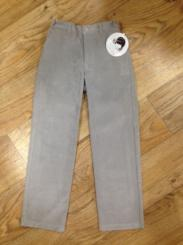 Sarah Louise Boys Grey Fine Cord Trousers 9106