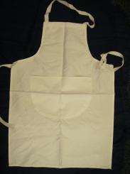 White Technology/Cookery School Apron