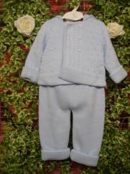 Dandelion Boys Knitted Pram Suit