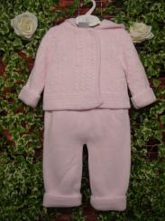 Dandelion Girls Knitted Pram Suit