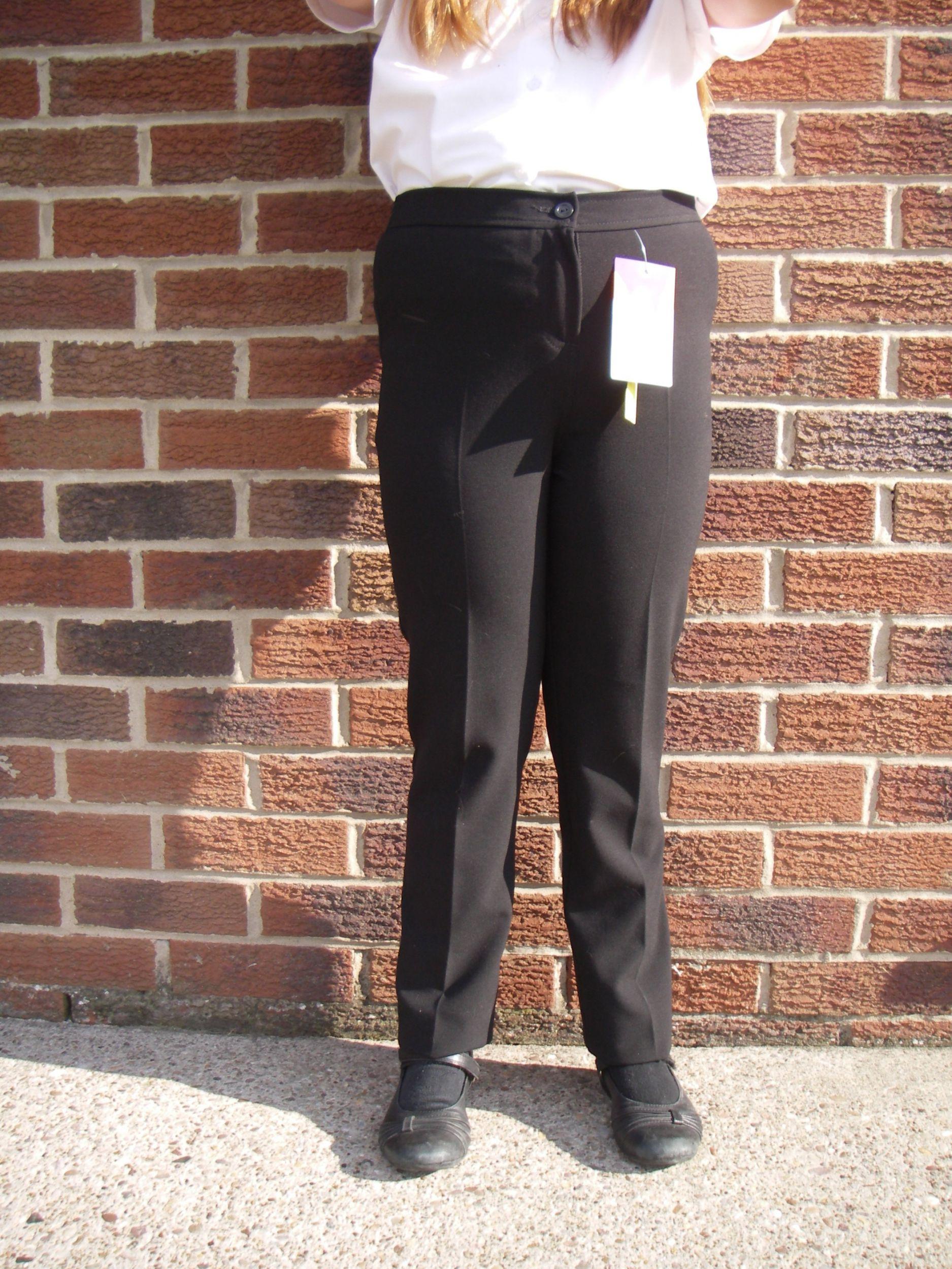 Graham Winterbottom Slim Cut Girls School Trousers Senior