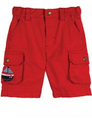 Frugi Little Explorer Shorts Tomato