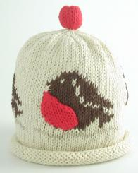 Merry Berries Robin Hat