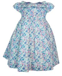 Little Lord & Lady Little Treasure Maddie Haworth Print Dress