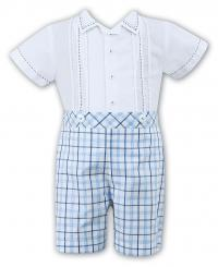 Sarah Louise Boys Spanish Two Piece Summer Set 010707