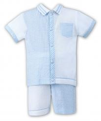 Dani By Sarah Louise Boys Short And Shirt Set D09098