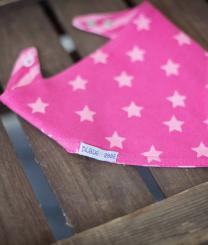 Blade & Rose Pink Matching Reversible Bib
