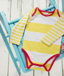 Blade & Rose Bodysuit Yellow Stripes