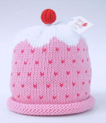 Merry Berries Cupcake Hat