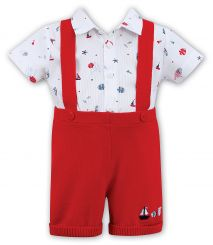 Dani By Sarah Louise Boys Nautical Set D09323