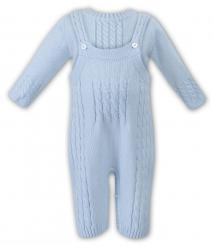 Sarah Louise Boys Knitted Dungaree & Jumper 008038