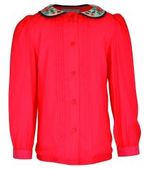 Little Lord & Lady Charlotte Coral Blouse