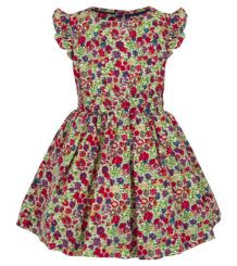 Little Lord & Lady Betsy Vintage Floral Dress