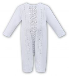 Dani By Sarah Louise Knitted All In One White D09252