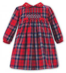 Sarah Louise Winter Tartan Check Dress 011020