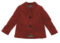 Little Lord & Lady Penelope Red Velvet Blazer