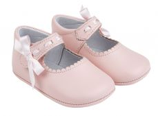 Early days Pink Evie Pram Shoe