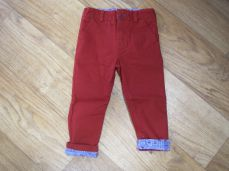 Little Lord & Lady Little Treasure Hugo Red Trouser