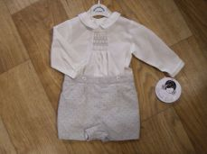 Sarah Louise Exclusive Boys Spanish Winter Shirt & Short Set 010945