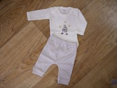 Chamomile Baby Zebra Embroidered Bodysuit & Trousers