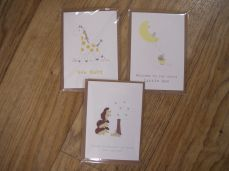 Chamomile Baby Greetings Cards