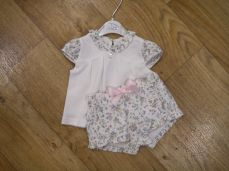 Dani By Sarah Louise Floral T-shirt And Short Set D09312