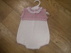 Girls Spanish Style Summer Knitted Romper 76