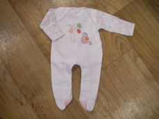 Chamomile Baby Flower Mouse Embroidered Sleepsuit