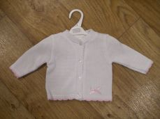 Pex Girls Olivia Cardigan White