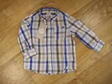 Losan Boys Blue Checked Shirt