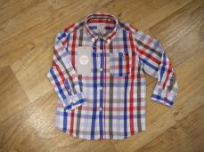 Losan Boys Red Checked Shirt