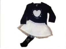 Losan Snowflake Girls Set Navy