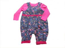 Seesaw Reversible Kira Dungaree And Top