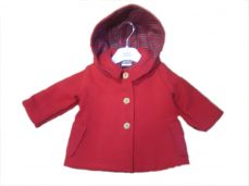 Pex Red Duffle Coat